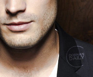 Jamie Dornan, christian grey, and grey image