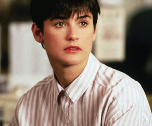 Demi Moore, 90s, and ghost image