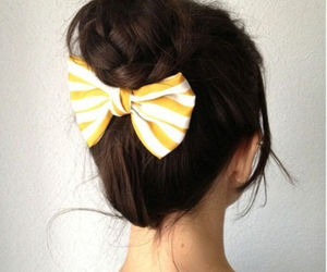 bow, girl, and pretty image