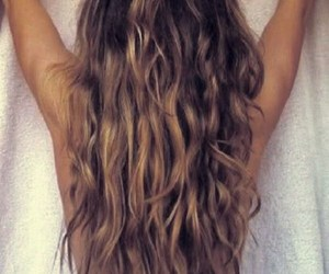 hair, long hair, and blonde image