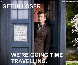 doctor who, fandom, and funny image
