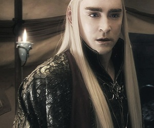 lee pace, elven king, and the hobbit image