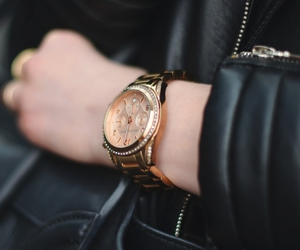 fashion, Michael Kors, and watch image