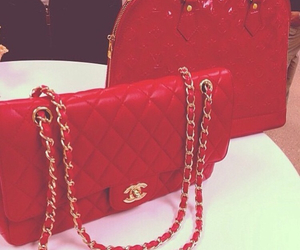 bag, chanel, and red image