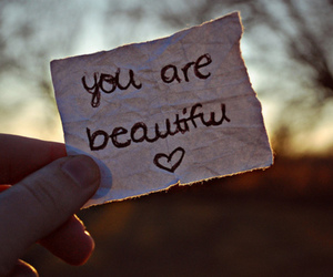beautiful, you, and heart image