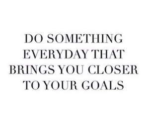 goals, quotes, and inspiration image