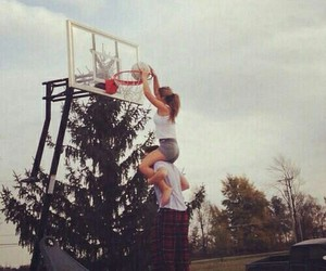 couple, love, and Basketball image