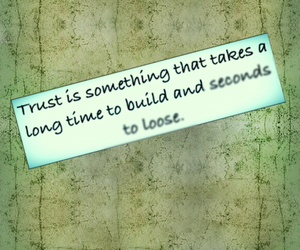 Build, loose, and trust image
