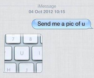 conversation, funny, and message image