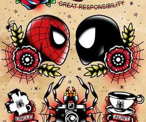 tattoo and spiderman image
