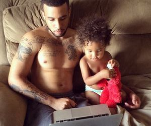 child, dad, and cute image