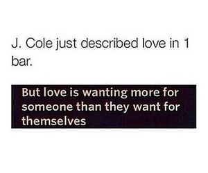 love, j cole, and j.cole image