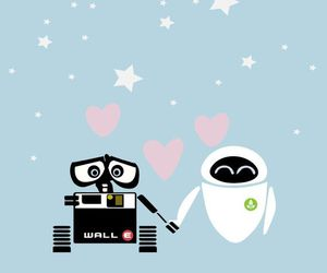 movie, wall-e, and cute image