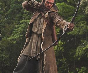 arrow, hobbit, and man image