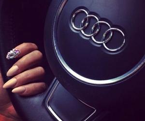 audi, nails, and car image