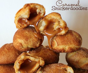 caramel, snickerdoodles, and crescent image