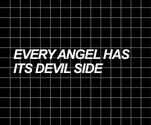 angel, Devil, and quotes image