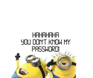 minions, password, and wallpaper image