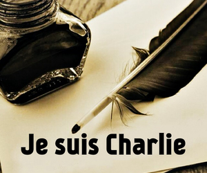 hommage, charlie hebdo, and je suis charlie image