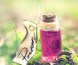 poison, key, and pink image