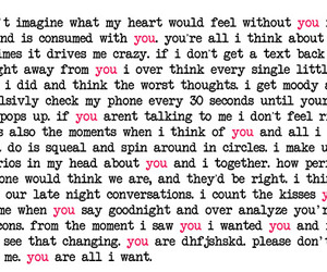 crush, him, and love quotes image