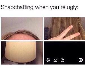 funny, snapchat, and ugly image
