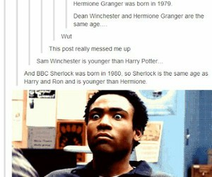 supernatural, harry potter, and hermione image
