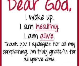 alive, god, and healthy image