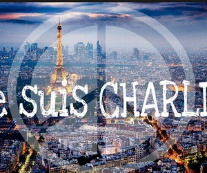 je suis charlie, france, and paris image
