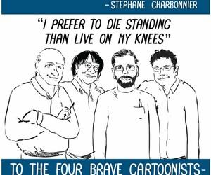 cartoonist, free speech, and liberty image