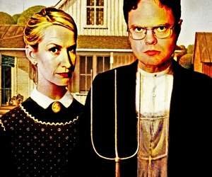 dwight schrute and office image