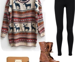 outfits, tumblr, and winter image