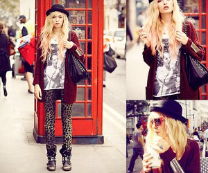 fashion, london, and style image