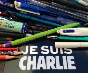 R.I.P., freedom of opinion, and je suis charlie image