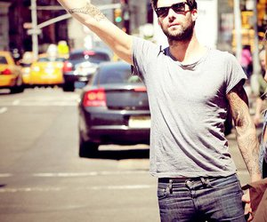 handsome, Hot, and adam levine image