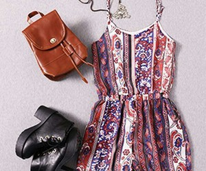 bohemian and outfit image