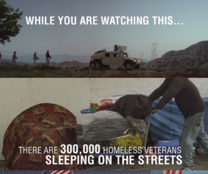 heroes, homeless, and veterans image