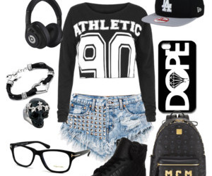 athletic, black, and clothes image