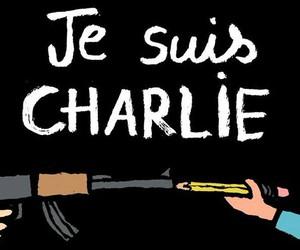 charlie, je suis charlie, and jesuischarlie image