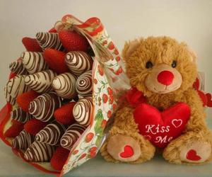 chocolate and strawberry image