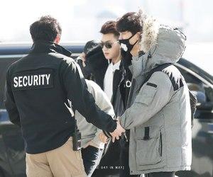 baekhyun, exo, and chanyeol image