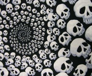 skull and spiral image