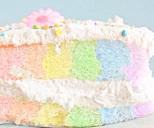 cake, flower, and colorful image
