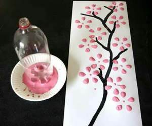 diy, pink, and tree image