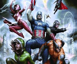 Avengers, comics, and Marvel image