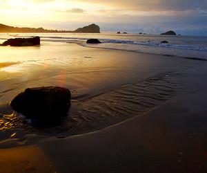 beach, costa rica, and landscape image