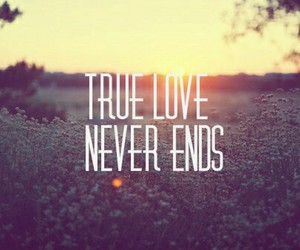 love, true, and never image