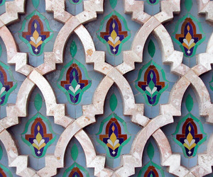 architecture, morocco, and mosaic image