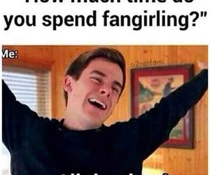 connor franta, fangirl, and funny image