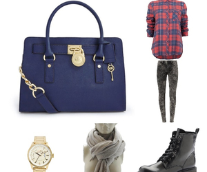 blue, boots, and fashion image